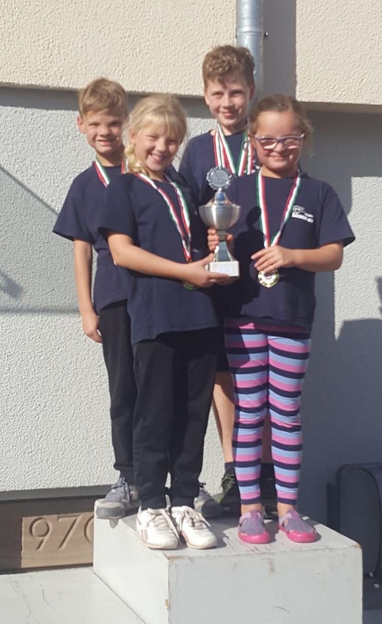 Alle Aktiven der SSG gewinnen Medaillen in Rotenburg