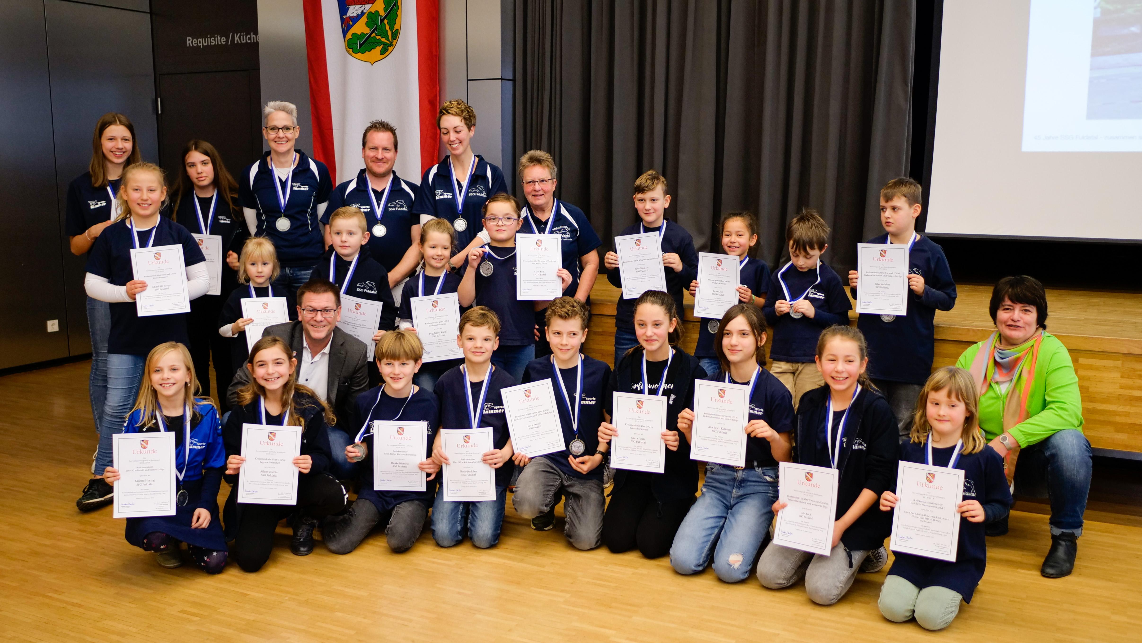 Sportlerehrung der Gemeinde Fuldatal