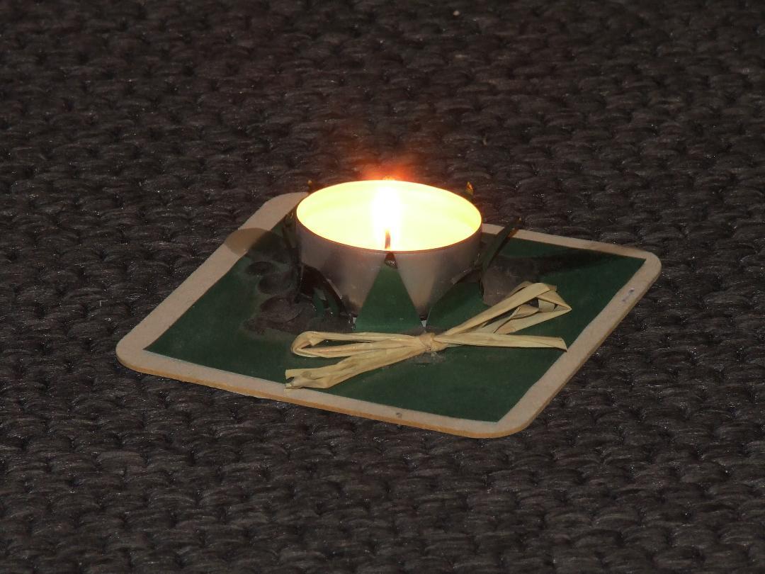 Advent, Advent, ein Lichtlein brennt …